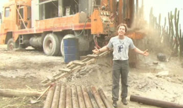 <h4>Drilling for Water</h4>