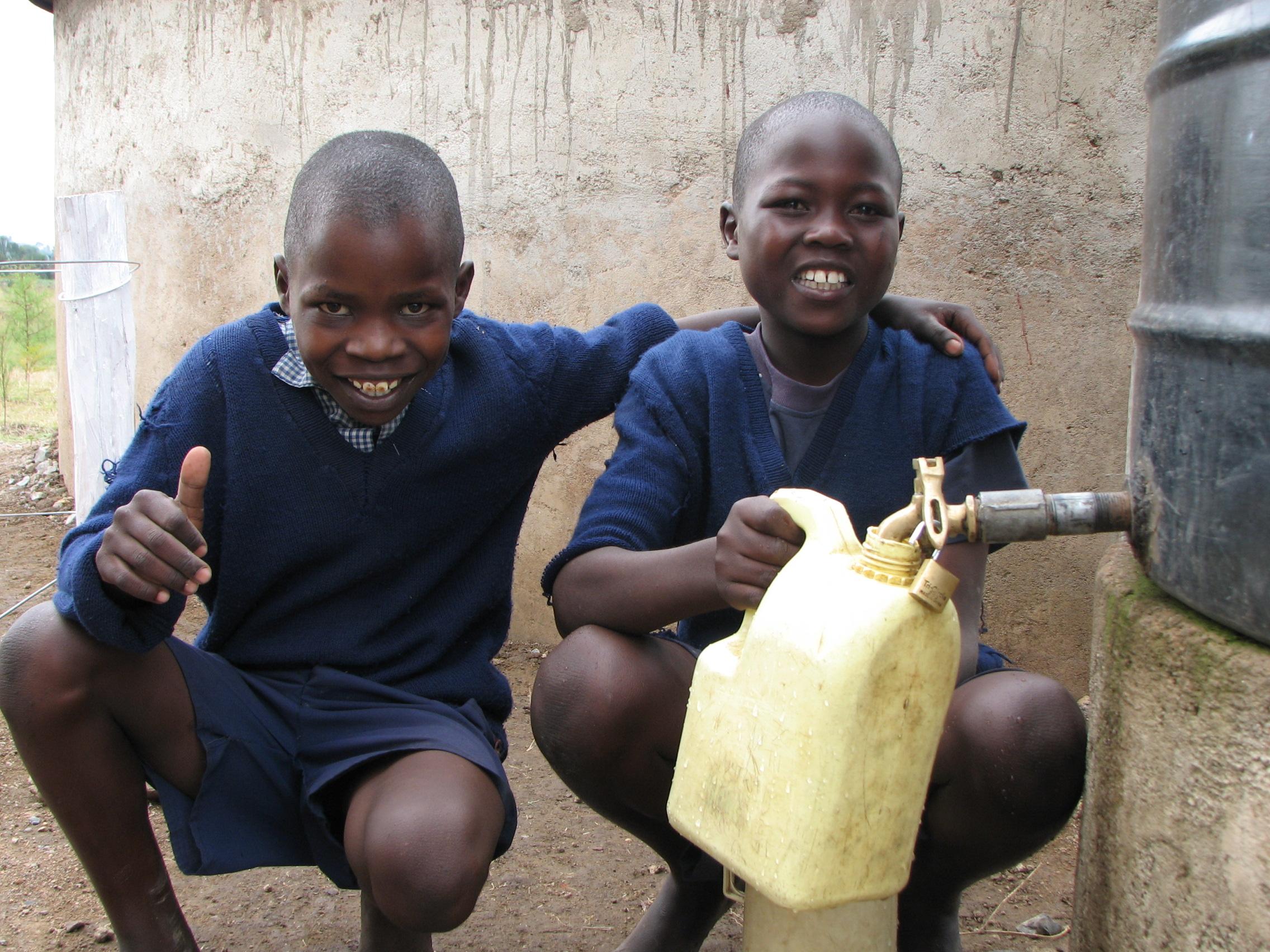 WE Villages Pillar of Impact - Water