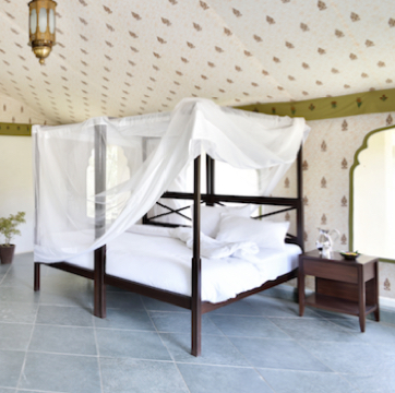 Araveli tented camp in India