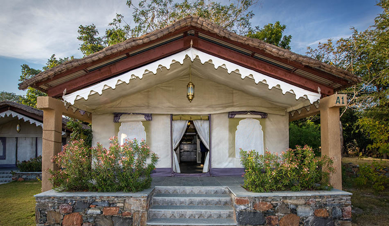 India - Araveli Tented Camp and Cottages