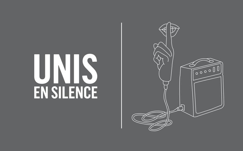 unis en silence
