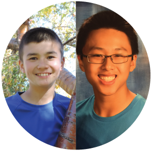 Corey Ly and MArcus Wong